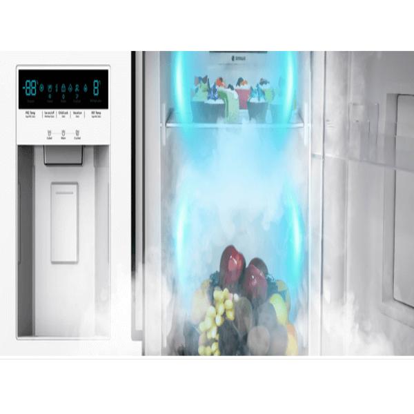 چارسومارکت-فروشگاه اینترنتی چارسومارکت-لوازم خانگی-یخچال فریزر-یخچال فریزر ساید بای ساید اسنوا سفید SN8-2261GW(6)