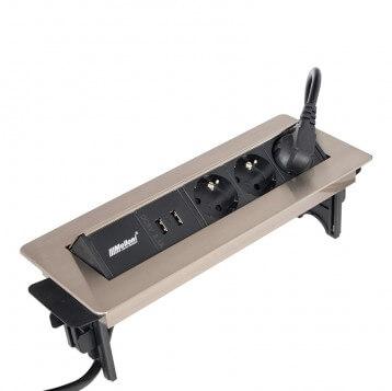 چارسو مارکت-فروشگاه اینترنتی چارسو مارکت-نورپردازی و تجهیزات الکتریکی-پریز برق ملونی کد 10022