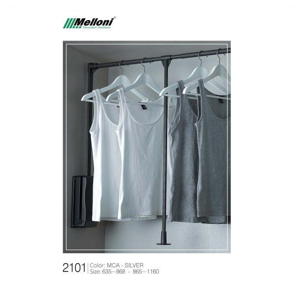 چارسو مارکت-فروشگاه اینترنتی چارسو مارکت-اکسسوری کمد-تجهیزات داخل کمد و کلوزت-رگال آسانسوری لباس ملونی کد 2101