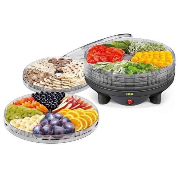 چارسومارکت-فروشگاه اینترنتی چارسو مارکت-لوازم خانگی-پخت و پز برقی-میوه خشک کن-میوه و سبزی خشک کن روتل مدل U1411CH(3)