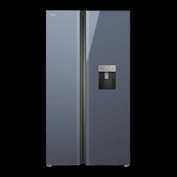چارسومارکت-فروشگاه اینترنتی چارسومارکت-لوازم خانگی-یخچال فریزر-ساید بای ساید تی سی ال مدل TCL S660 AGD Elegant Gray(1)