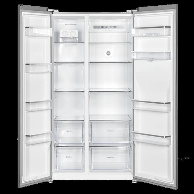 چارسومارکت-فروشگاه اینترنتی چارسومارکت-لوازم خانگی-یخچال فریزر-ساید بای ساید تی سی ال مدل TCL S660 AGD Elegant Gray(2)