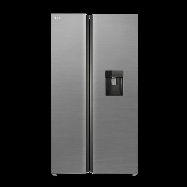 چارسومارکت-فروشگاه اینترنتی چارسومارکت-لوازم خانگی-یخچال فریزر-ساید بای ساید تی سی ال مدل TCL S660 AMD Matt Silver(1)